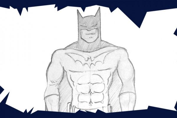 Voici un cours de dessin pour vous montrer comment dessiner batman le c l bre super h ros - Apprendre a dessiner pour enfant ...