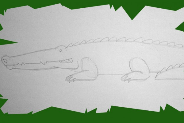 Voici un cours de dessin et une méthode pour dessiner un crocodile simple et sympa.