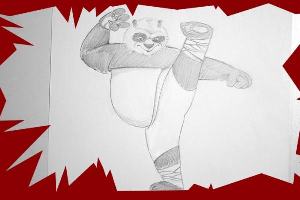 Voici un cours de dessin pour apprendre dessiner po du film kung fu panda et de savoir cr er - Comment dessiner un super heros fille ...